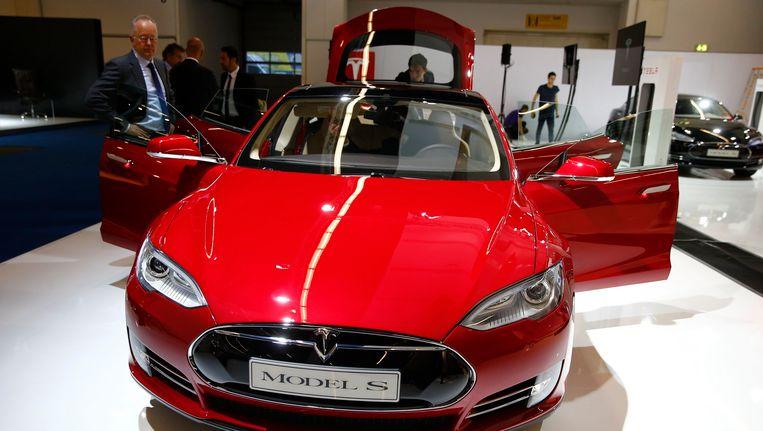 Tesla S model Beeld REUTERS