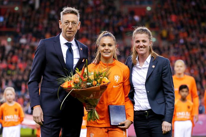 Jan Dirk van der Zee naast Lieke Martens.