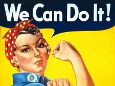 Videobellen met echte 'Rosies' op 'We can do it'-dag vanuit Vrijheidsmuseum in Groesbeek