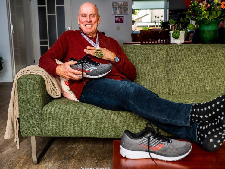 Marathonloper Bert (67) ging als állerlaatste over de Coolsingel: 'Ik had het niet verwacht'