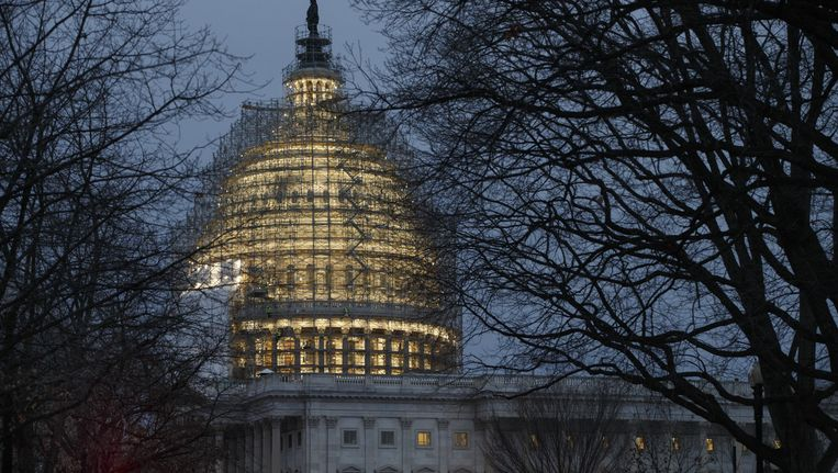 Het Capitool in Washington. Beeld ap