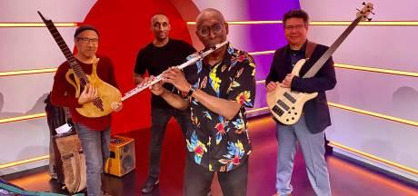 En toen was gitarist Frank Ong-Alok uit Zutphen ineens live op tv, bij De Vooravond: 'Ik dacht: rustig blijven en je ding doen'
