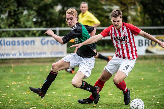 Gendringen, op archiefbeeld, won met 8-0 van Ajax Breedenbroek.