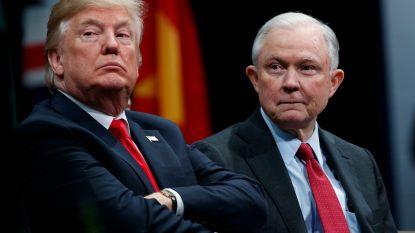"""Trump betreurt openlijk benoeming van Justitieminister Jeff Sessions: """"Wou dat ik iemand anders had gekozen"""""""