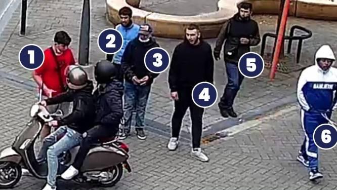 Politie zoekt identiteit van deze zes jongeren