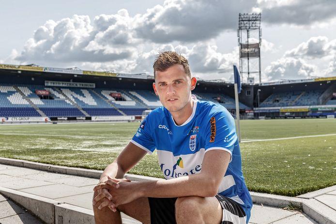 Clint Leemans verruilt PEC Zwolle op huurbasis voor RKC.