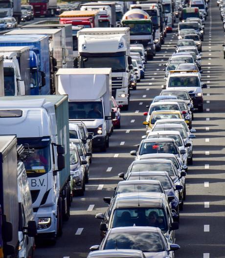 A58 tussen Oirschot en Tilburg dit weekend dicht