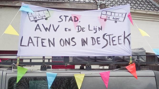 """Melden tot de zomer zonder openbaar vervoer door werkzaamheden op Berchemweg: """"Onaanvaardbaar dat wij maandenlang gegijzeld blijven"""""""