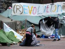 Occupy Nijmegen breekt tentenkamp op