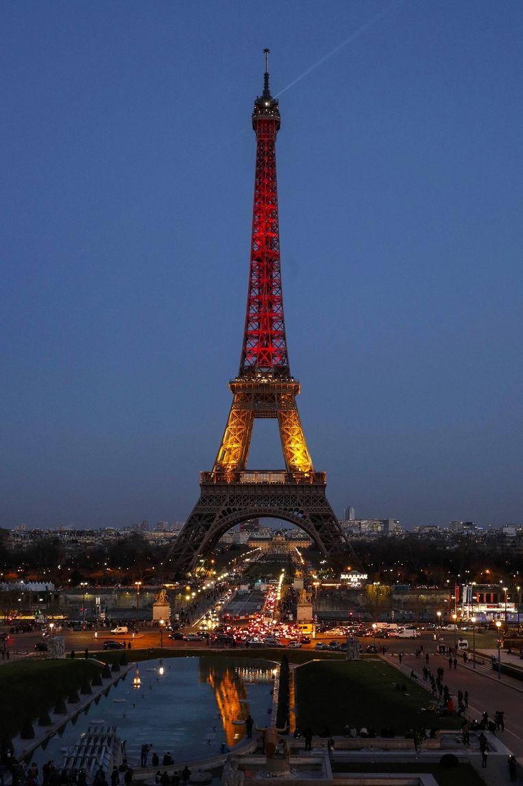De Eiffeltoren. Beeld reuters