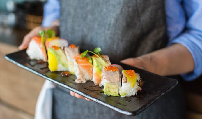 Sushi (voorbeeldfoto). In Etten-Leur opent volgende week een nieuwe sushizaak.