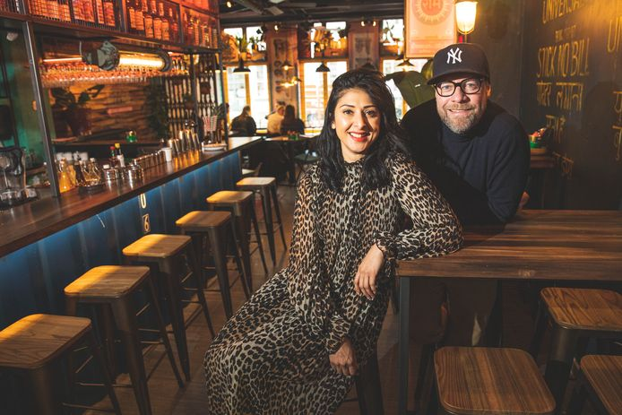 Pavan Bajwa , zij staat samen met Tim Van Den Heuvel aan het roer van de 'Mission Masala'-restaurants.
