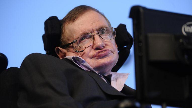 Stephen Hawking overleed woensdagochtend. Beeld anp