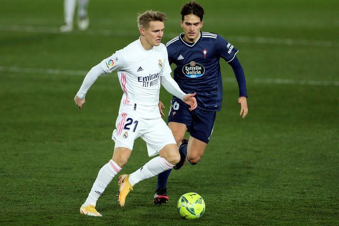 Martin Ødegaard speelde dit seizoen slechts negen wedstrijden mee bij Real Madrid.