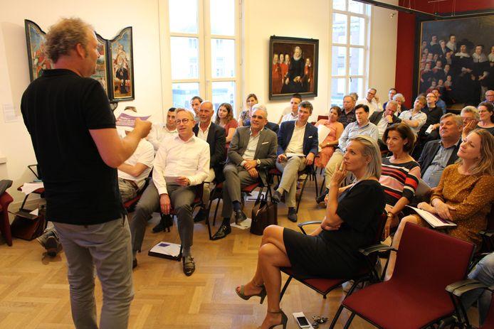 De Stichting Hoger Onderwijs Gorinchem gaf vorige maand een presentatie van de stand van zaken van de HBO Gorinchem in het auditorium van het Gorcums Museum.