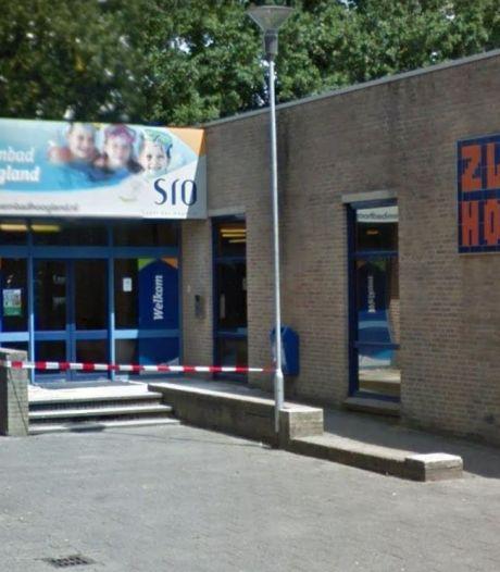 Zwembad Hoogland veegt glas op na inbraak: 'Het was wel even schrikken'