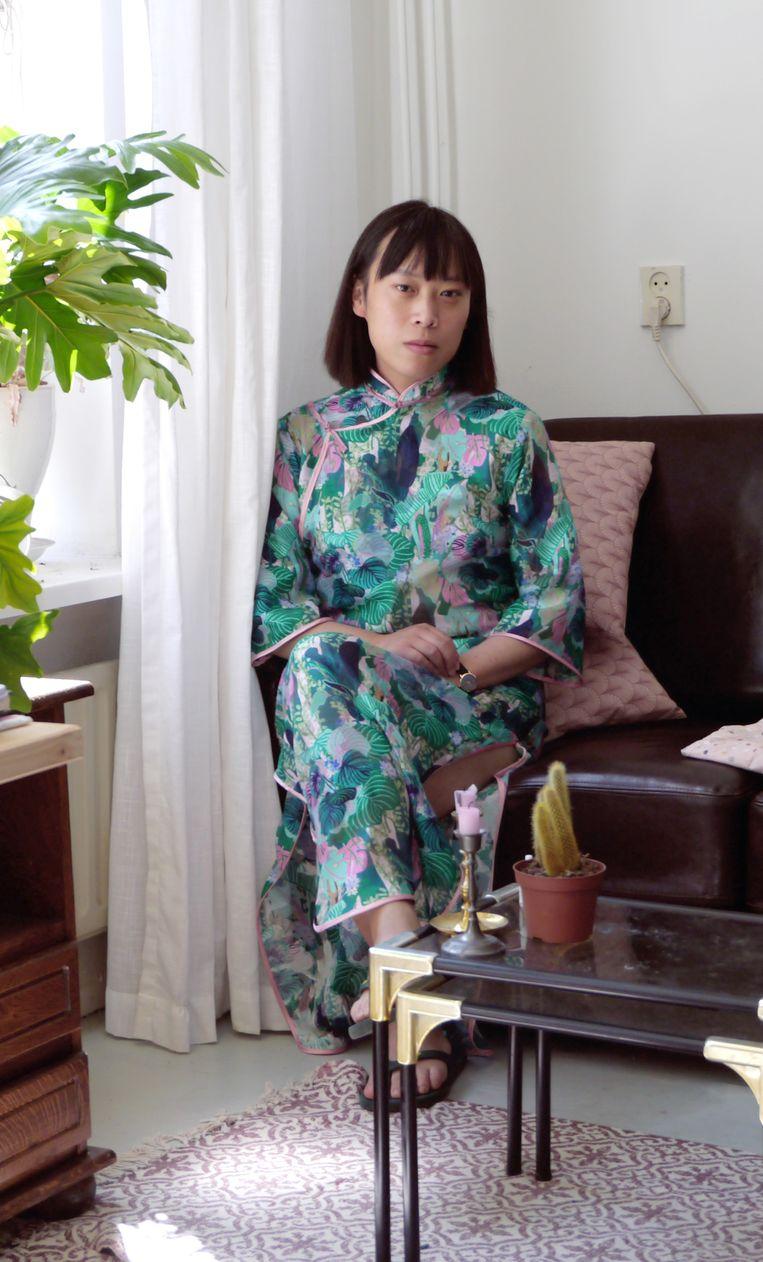 Evelyn Taocheng Wang Beeld -