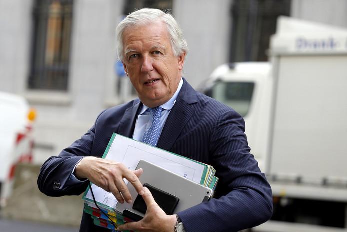 Le ministre fédéral des Pensions Daniel Bacquelaine (MR)