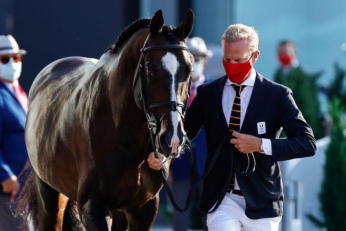 Jérôme Guery en zijn paard Quel Homme de Hus.