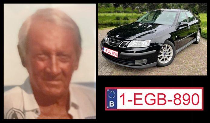 Mounty vertrok gisteren met zijn zwarte Saab en werd sindsdien niet meer gezien.