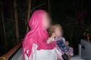 Mandy kreeg in Syrië nog een kind.