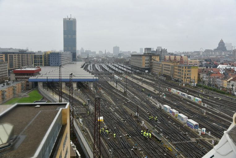 Beeld ter illustratie: station Brussel-Zuid Beeld Baert Marc