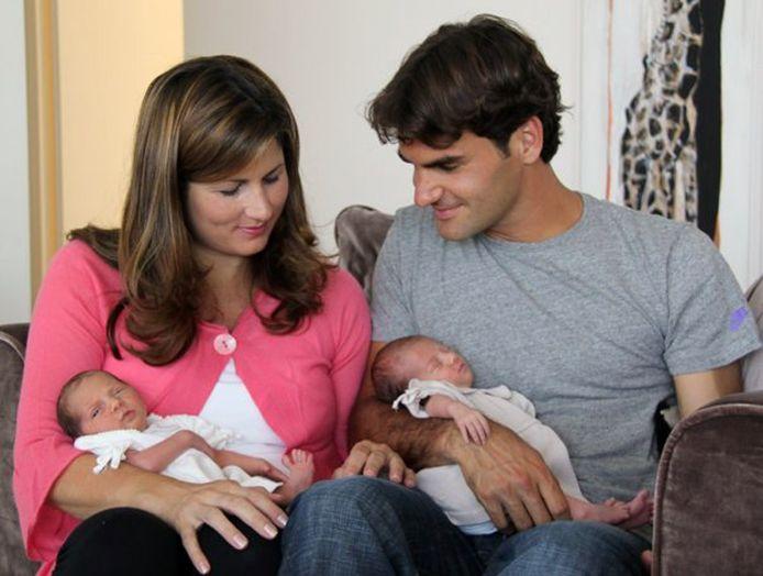 La famille Federer s'agrandira bientôt.