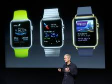 'Apple Watch pas in de lente'