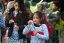 Carnavalsoptocht van basisschool 't Slingertouw