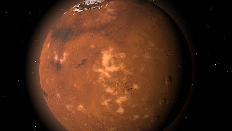 De planeet Mars. Beeld Thinkstock