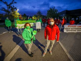 ACOD voert actie tegen afschaffing maaltijdbedeling in Nieuwerkerken