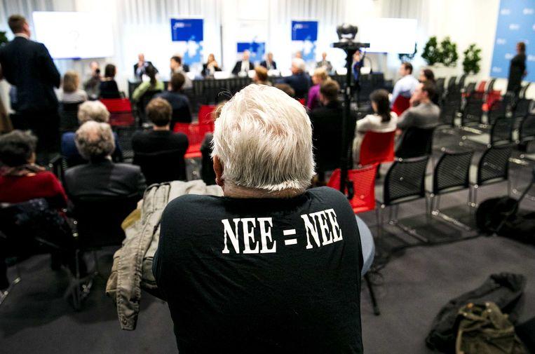De uitslag van het laatste raadgevend referendum wordt bekendgemaakt, in maart van dit jaar. Deze methode om burgers zeggenschap te geven, is inmiddels afgeschaft. Beeld ANP