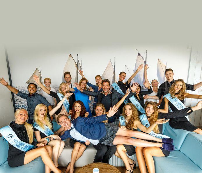 Bij de Miss World Nederland, vorig jaar, werd Christian Vredenburg op handen gedragen door de missen. Nu is hij organisator van een nieuwe missverkiezing Miss Giethoorn Netherlands.