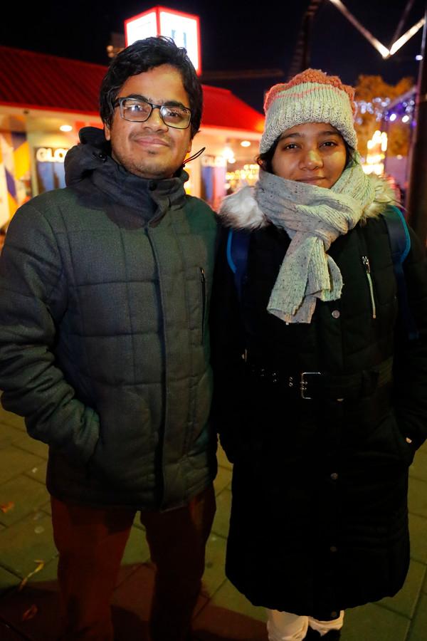 Aishee Nandi en Deep Chakraborty