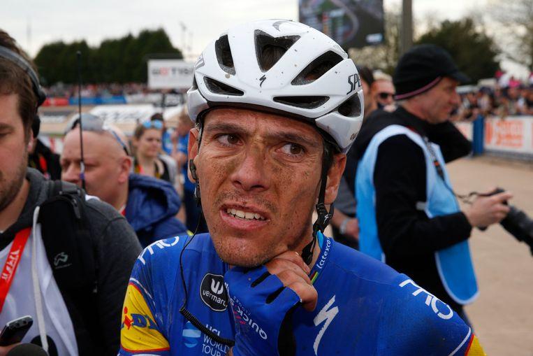 Philippe Gilbert na Parijs-Roubaix Beeld Photo News
