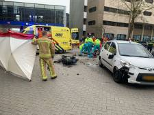Scooterrijder zwaargewond na ongeval in Eindhoven, traumahelikopter ter plaatse