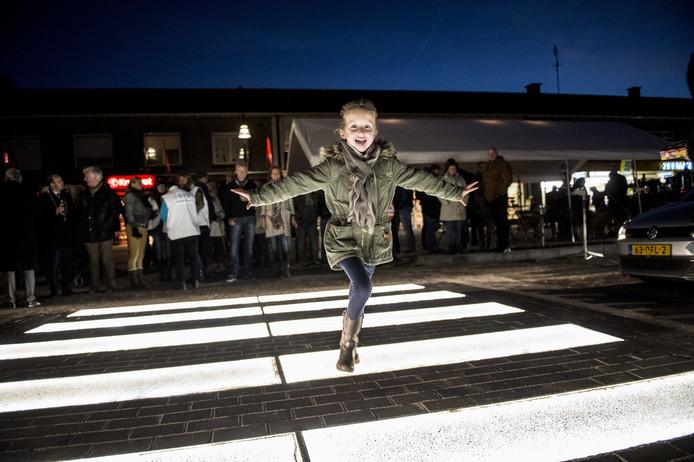 De opening van de zebra maakte zeker de kinderen blij. Foto: Kevin Hagens