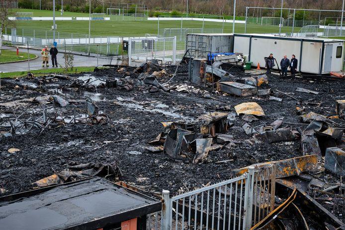 De brand zorgde in 2019 voor een enorme ravage.