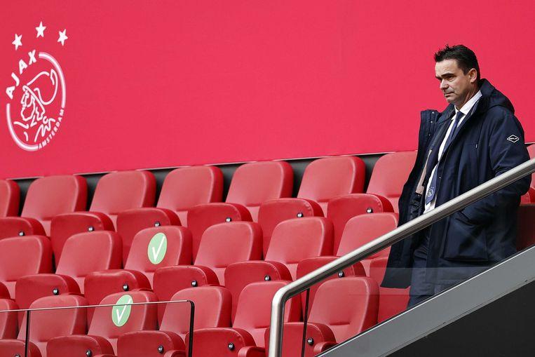 Ajax' technisch directeur Marc Overmars. Beeld ANP