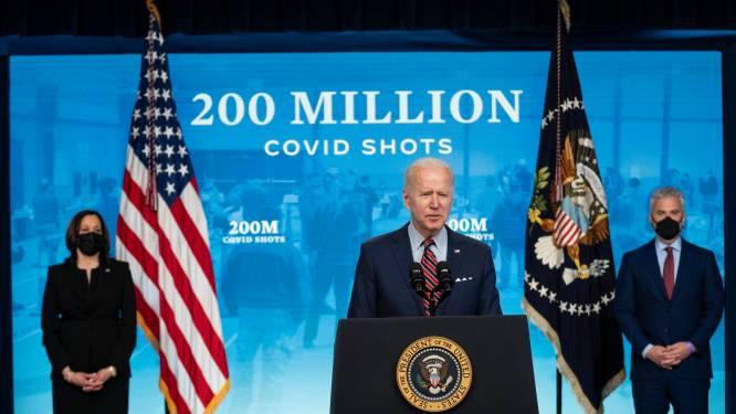 Meer dan 200 miljoen coronaprikken gezet in de Verenigde Staten
