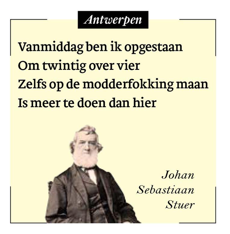 Johan Sebastiaan Stuer Beeld HUMO