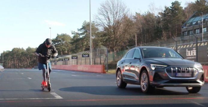 Audi step vs. Audi e-tron Sportback