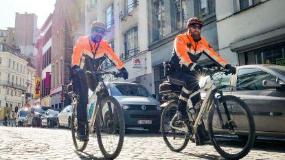 Politie massaal op post in Brussel tijdens zonnig weekend