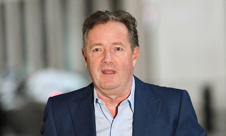 De  Britse journalist Piers Morgan heeft gedreigd in een rok naar zijn oude school in Lewes te gaan, uit protest. Beeld EPA