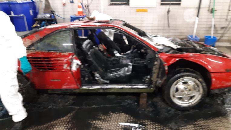 De Ferrari Mondial waar het om gaat. Beeld Politie