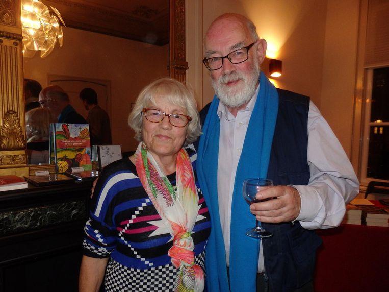 Oude strijders: Marianne Kessels zong twintig jaar in het Casakoor, onder meer strijdliederen tegen apartheid. Met haar man Aad Brinkman Beeld Schuim