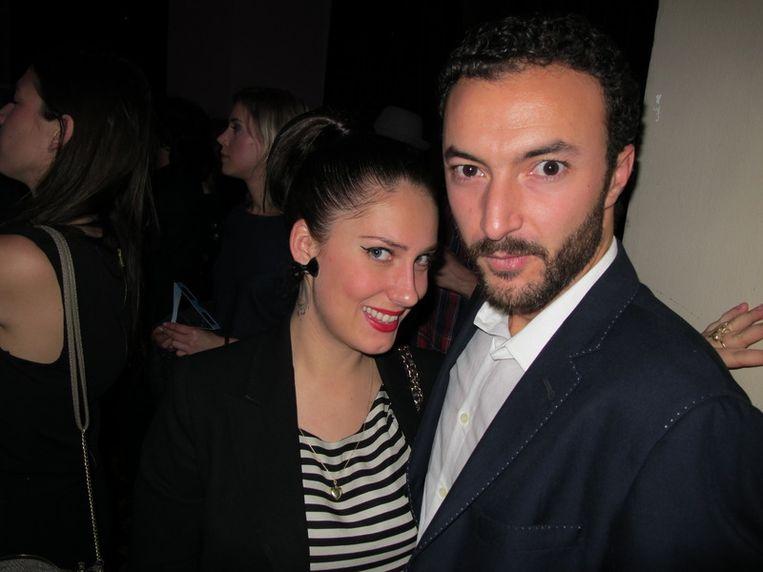 Acteur Nasrdin Dchar is verheugd over zijn plek in de best geklede top honderd. Willa van Spice PR is ook blij. <br /> Beeld null