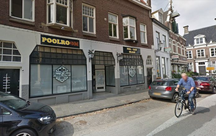 Café The Poolroom in Deventer.