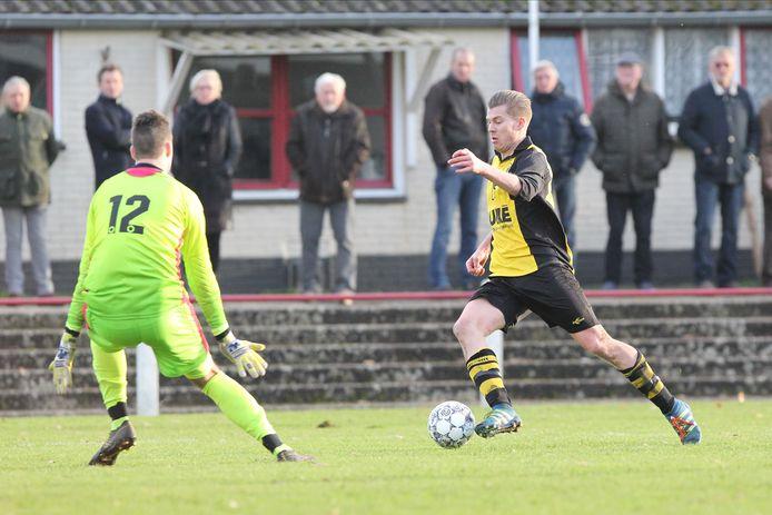 Archiefbeeld uit de wedstrijd SC Rheden-VVO.