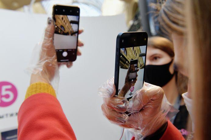 De iPhone 12, illustratiebeeld.